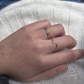 個性戒指女時尚簡約氣質食指戒指【小酒窝服饰】