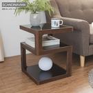 巧邊桌 書桌【收納屋】唐恩強化玻璃三層邊桌-雙色可選&DIY組合傢俱