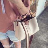 包包女韓版女包潮時尚百搭手提包單肩斜背包/側背包大包包潮 夢露