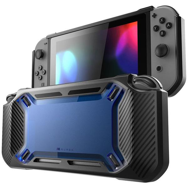 [107美國直購] Mumba case for Nintendo Switch, [Heavy Duty] Slim Rubberized [Snap on] Hard Case Cover