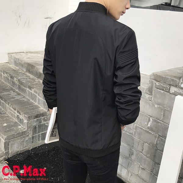 台灣現貨 男外套 飛行外套 夾克外套 騎車外套 防風外套 帥氣外套 英倫外套