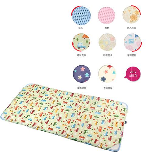 韓國GIO Kids Mat 智慧二合一有 機棉超透氣嬰兒床墊(L)90cm×120cm[衛立兒生活館]