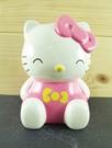 【震撼精品百貨】Hello Kitty 凱蒂貓~陶瓷造型存錢筒~粉蝶結