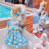 聖誕節交換禮物-寵物狗狗裙子春夏季衣服輕薄泰迪比熊裝飾