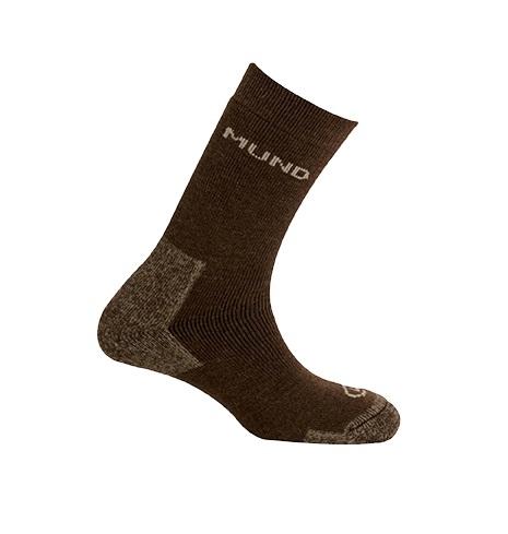 Mund 西班牙 亞克提克健行襪-30%羊毛 棕 430-6 登山襪 羊毛襪 運動襪 排汗襪 [易遨遊]