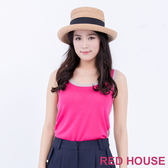 RED HOUSE-蕾赫斯-雙色無袖針織背心(共2色)