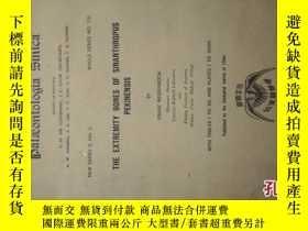 二手書博民逛書店1941年中國地質調查所古生物志-THE罕見EXTREMITY