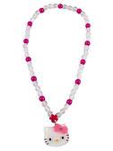 【卡漫城】 Hello Kitty 項鍊 透明珠 ㊣版 韓版 凱蒂貓 項鏈 小女孩 扮家家酒 兒童 飾品 打扮 造型