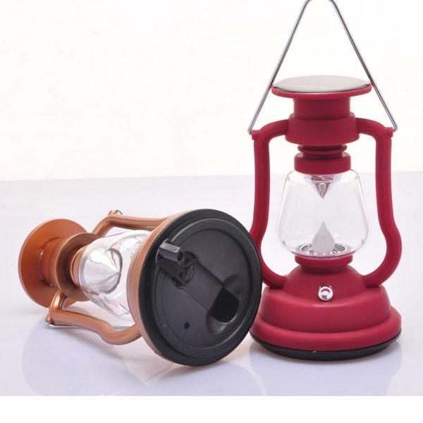露營燈 戶外野營燈高亮LED馬燈太陽能燈露營燈應急燈帳篷燈可充電手提燈·夏茉生活