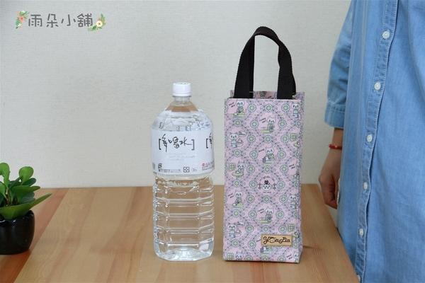 水壺袋 防水包 雨朵小舖 M352-447 2200c.c.掛機車水壺袋-白貓咪的旅遊日誌02692 funbaobao