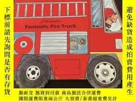二手書博民逛書店Fantastic罕見Fire Truck 兒童立體繪本Y275