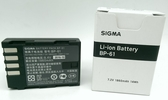 SIGMA BP-61 8.4V 1860mah 原廠鋰電池 適用SDQ SDQH【完整盒裝】