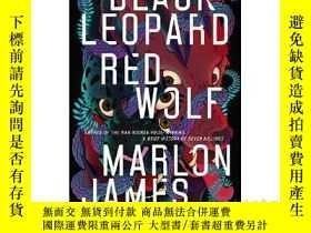 二手書博民逛書店黑豹,紅狼罕見英文原版 Black Leopard, Red W