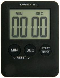 LIFE  日本DRETEC(多利可)正、倒數計時器 T-307BK