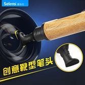 selens雙頭除塵清潔筆單反相機活性炭鏡頭保養攝影毛刷鏡頭筆 全館免運