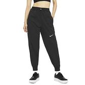 Nike AS W NSW Swsh Pant WVN HR 女 黑 小勾 縮口 休閒 長褲 CZ8910-010
