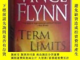 二手書博民逛書店英文原版罕見Term Limits by Vince Flynn