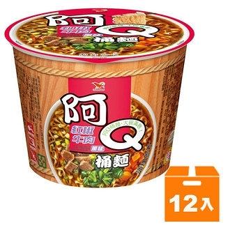 阿Q桶麵 紅椒牛肉風味 101g (12入)/箱