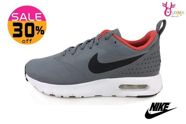 Nike 大童慢跑鞋 (女段) Air Max Tavas (GS) 氣墊 透氣輕量運動鞋 零碼出清 N7061#灰橘