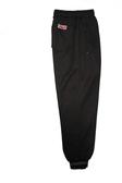 亞曼尼台灣製造束口工作運動褲(黑色)