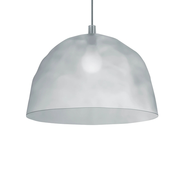Foscarini Bump Suspension Lamp 50cm 冰鑽造型 色彩 吊燈(半透明冰漾白 Frost - 標準吊線長 340cm)