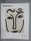 【書寶二手書T4/收藏_PML】Sotheby s_Oeuvres Sur Papier_2017/3/23
