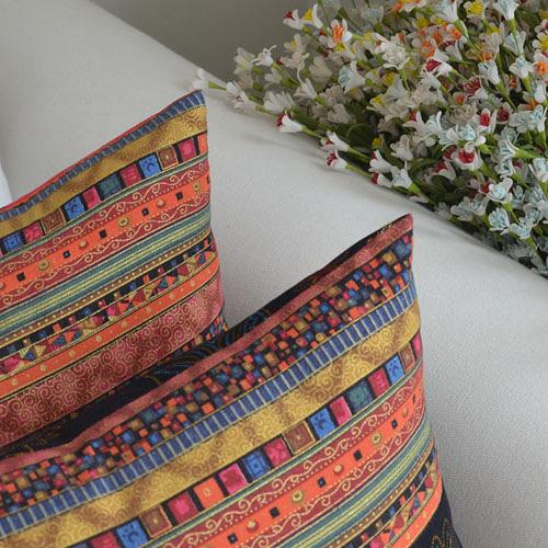 [超豐國際]地中海波西米亞民族風抱枕靠枕腰枕套腰枕沙發靠枕可1入