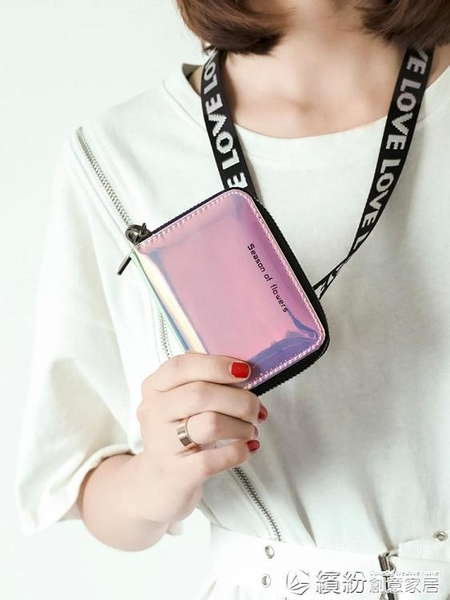 米印卡包女式韓國可愛個性迷你小巧大容量信用卡證件位卡片零錢包 快速出貨