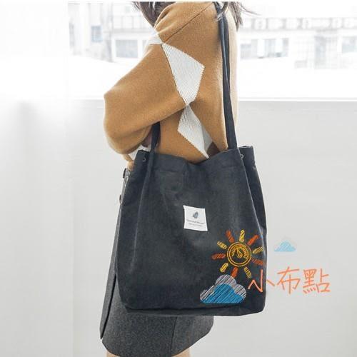 側背包大包包夏季新款包包女chic正韓學生帆布包大容量文藝百搭單肩包