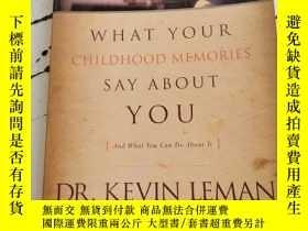 二手書博民逛書店What罕見Your Childhood Memories Say about YouY25376 Leman