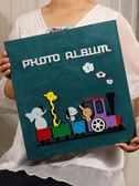 相簿影集相冊本插頁式家庭6寸相冊600張鹿皮絨寶寶成長紀念冊大本六寸xw 聖誕交換禮物