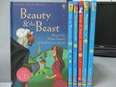 【書寶二手書T1/兒童文學_RFR】Beauty and the Beast_Pinocchio等_共6本合售_附光碟