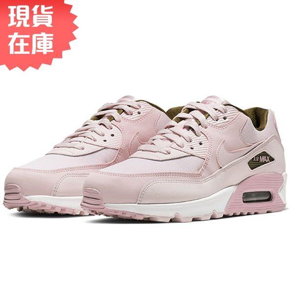 ★現貨在庫★ NIKE AIR MAX 90 SE 女鞋 慢跑 休閒 氣墊 皮革 粉 【運動世界】881105-605