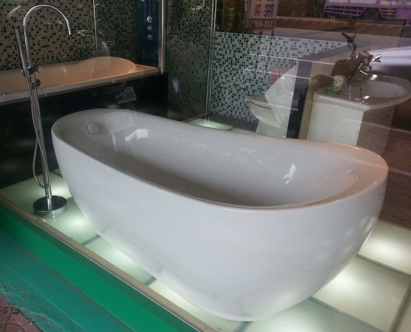 【麗室衛浴】英國ICI KERAMIN H-239 造型獨立浴缸180*90CM