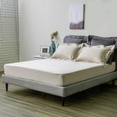 HOLA 雅逸天絲素色系列 歐式枕套 2入 湖灰色