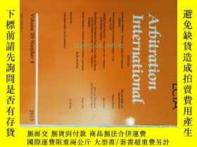二手書博民逛書店Arbitration罕見International (jour