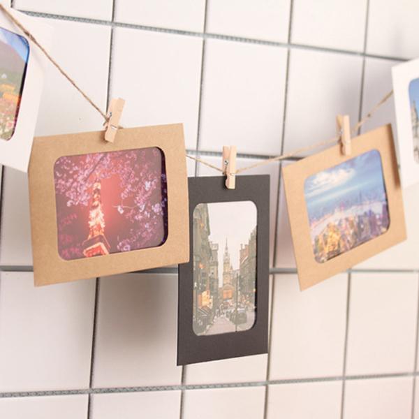 創意DIY 組合相框 牆掛 相冊 相冊 紙相框 懸掛 裝飾 牆貼 壁貼 照片 手工 旅遊 『無名』 P08123