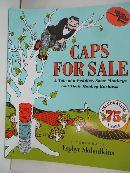 【書寶二手書T1/少年童書_DN5】Caps for Sale: A Tale of a Peddler, Some Monkeys..