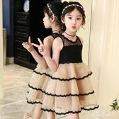 2020新款童裝女童洋裝 韓版時尚兒童連身裙 蕾絲花邊蛋糕裙子 TR95『寶貝兒童裝』