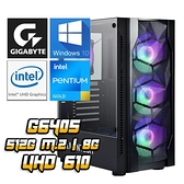 【南紡購物中心】技嘉平台【暴雪術士II】(G6405/512G SSD/8G D4/450W/Win10)
