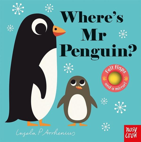 Where's Mr Penguin? 企鵝在哪裡? 不織布翻翻書