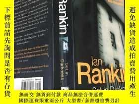 二手書博民逛書店lan罕見Rankin Set in DarknessY199663
