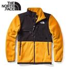 【The North Face 男 ICON 1995 RETRO DENALI 刷毛保暖外套《黃》】4UD2/夾克/抓絨保暖