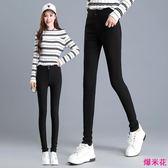 打底褲女新款高腰修身顯瘦彈力大碼小腳鉛筆長褲