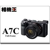 Sony A7CL 黑色〔含 28-60mm 鏡頭〕A7C 公司貨