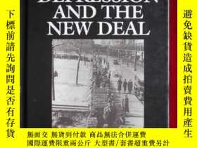 二手書博民逛書店The罕見Great Depression and the Ne