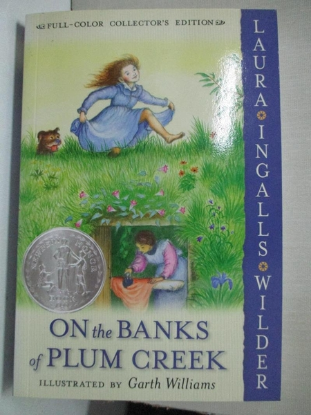 【書寶二手書T1/少年童書_GI2】On the Banks of Plum Creek_Wilder