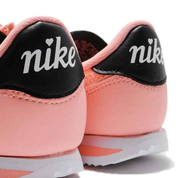 【四折特賣】Nike 阿甘鞋 Cortez Basic TXT VDAY 情人節限定款 粉紅 白 女鞋 大童鞋 【ACS】 AV3519-600