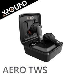 【風雅小舖】【台灣品牌XROUND AERO TWS真無線藍牙耳機】附SPINFIT耳塞 / 支援無線充電