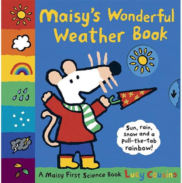 Maisy's Wonderful Weather Book 波波帶你體會天氣變化有趣操作書
